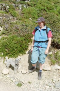 Read more about the article Pia beim Wandern
