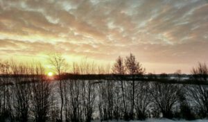 Read more about the article Winterlicher Sonnenaufgang